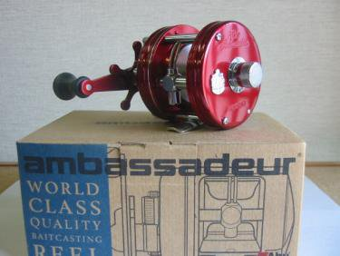 ABU・アンバサダー 4600C クラシック レッド