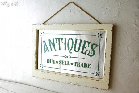 鏡 Antiques Frame Mirror ( アンティーク調 壁掛け ウォールミラー カガミ )