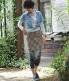 オーバーレギンススカート