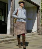 うしろプリーツスカートの商品画像