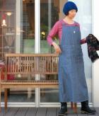 オーバーオールスカートの商品画像