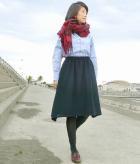 M-Basic レイヤードフレアスカートの商品画像