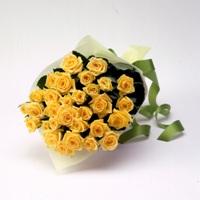 バラの花束(黄色)