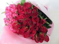 バレンタインローズ「ラブフォーエバー」(赤&ピンク)33本