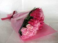 バレンタインローズ「ラブフォーエバー」(ピンク&ピンク)33本