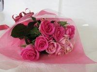 ホワイトデーローズ「ビーラビッド」(ピンク&ピンク)11本