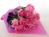 サマーバレンタインローズ(ピンク)12本