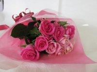 サマーバレンタインローズ(ピンク&ピンク)12本
