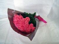緑寿お祝いバラの花束66本(ピンク)