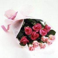 バレンタイン ダーズンローズ(ピンク&ピンク)12本