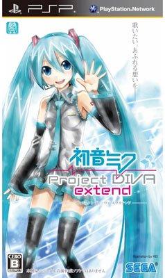 【中古】[PSP]初音ミク -Project DIVA- extend