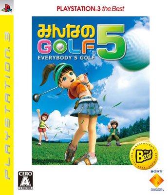 【中古】[PS3]みんなのGOLF 5 PLAYSTATION 3 the Best