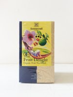 "SONNENTOR Organic Fruit tea blend ""Fruit Delight"" Caffeine-free フルーツディライトティー"
