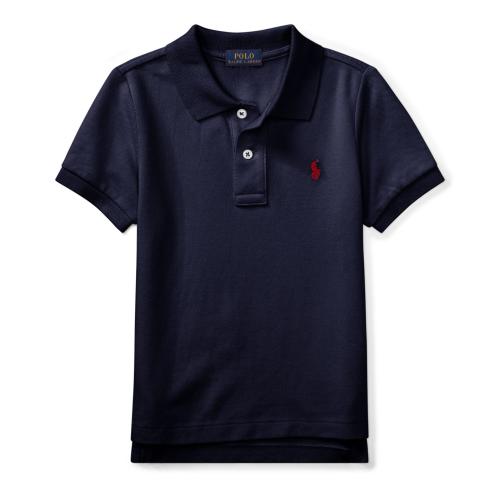 コットンメッシュ・半袖ポロシャツ[7色展開](男の子2〜7歳用)