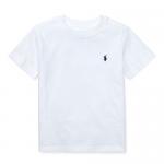 コットン・クルーネック・半袖Tシャツ[ホワイト](男の子2〜7歳用)【ラルフローレン】