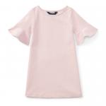 ポンテ・アイレット・半袖ドレス[ピンク](女の子2〜7歳用)【ラルフローレン】