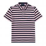 フェザーウェイト・コットンメッシュ・半袖ポロシャツ[ピンクマルチ](ボーイズS〜XL)【ラルフローレン】