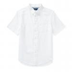 パフォーマンス・オクスフォード・半袖シャツ[ホワイト](ボーイズS〜XL)【ラルフローレン】