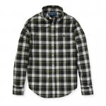 プレイドコットン・ポプリン長袖シャツ[2色展開](ボーイズS〜XL)