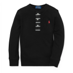 <img class='new_mark_img1' src='https://img.shop-pro.jp/img/new/icons15.gif' style='border:none;display:inline;margin:0px;padding:0px;width:auto;' />コットンメッシュ・ヘンリー・長袖Tシャツ[ブラック](男の子2〜7歳用)