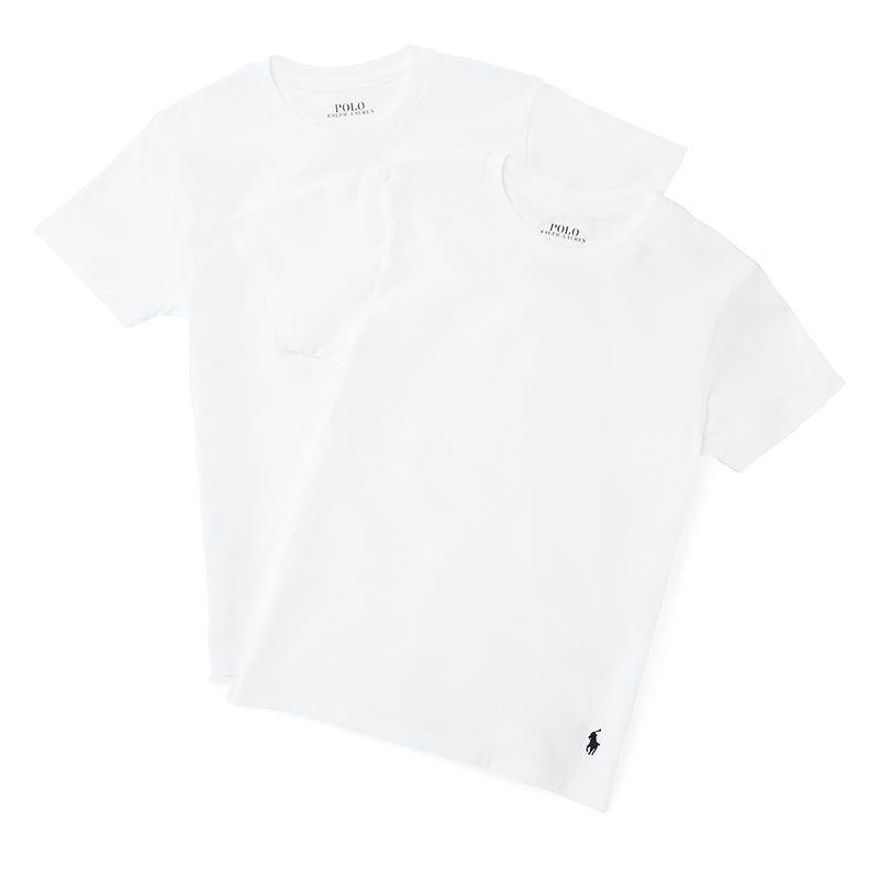 a1be53f6ba80d ソリッドコットン・クルーネック半袖インナーTシャツ・2枚セット 3色展開 ...(2