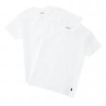 ソリッドコットン・クルーネック半袖インナーTシャツ・2枚セット[3色展開](ボーイズS〜XL)