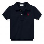 コットンメッシュ・半袖ポロシャツ[4色展開](男の子12〜24か月用)