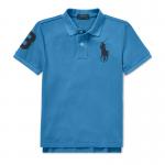 ビッグポニー・コットンメッシュ・半袖ポロシャツ[4色展開](男の子12〜24か月用)
