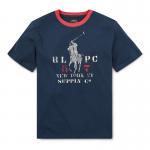 コットンジャージー・リンガー・半袖Tシャツ[3色展開](ボーイズS〜XL)