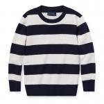ストライプ・コットン・セーター[2色展開](男の子2〜7歳用)
