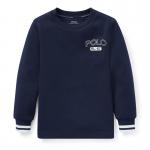 ダブルニット・グラフィック・長袖Tシャツ[2色展開](男の子2〜7歳用)
