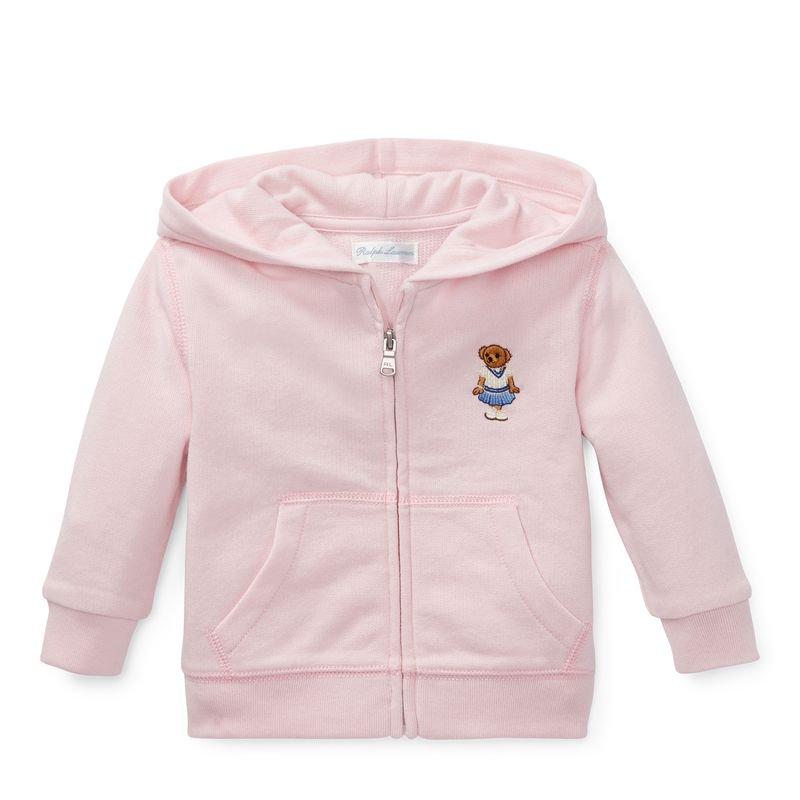 クリケットベア・フルジップパーカー[ピンク](女の子12〜24か月用)