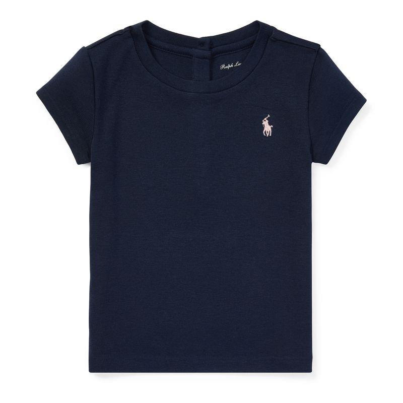 コットン・モダール・半袖Tシャツ[3色展開](女の子12〜24か月用)
