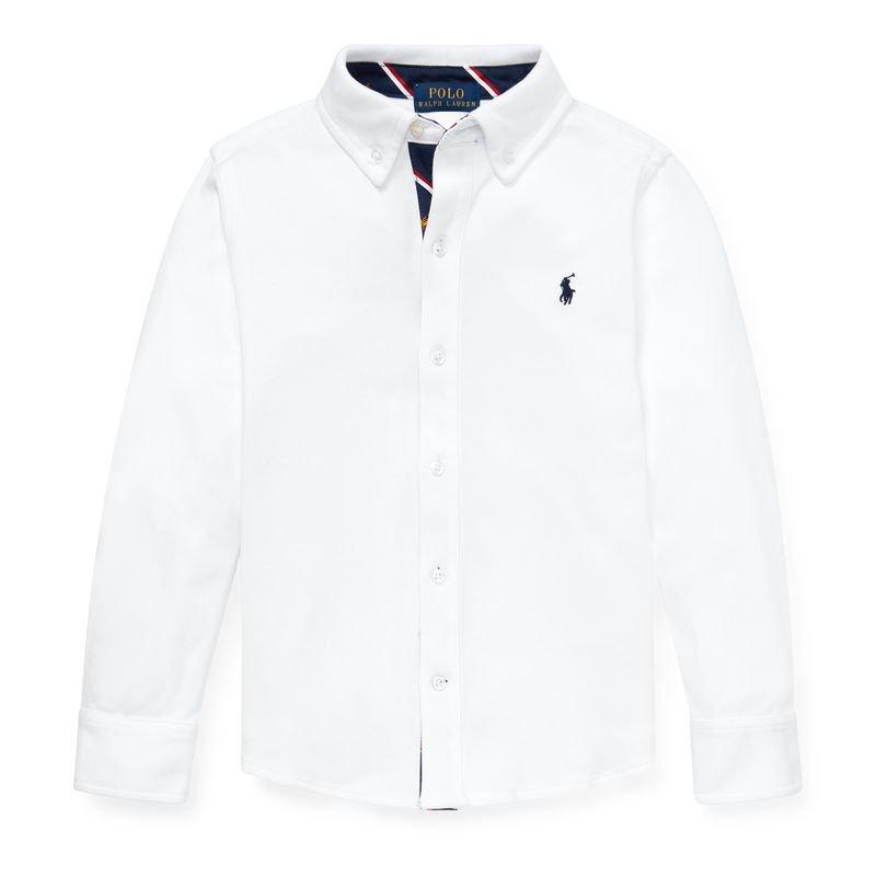 コットン・インターロック・長袖シャツ[2色展開](男の子2〜7歳用)