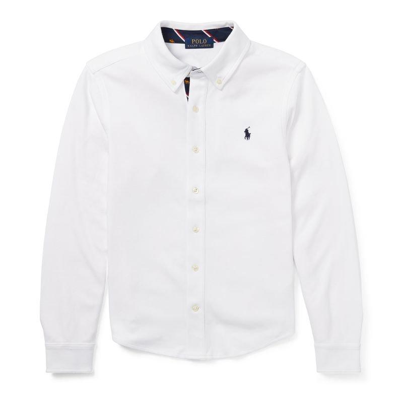 コットン・インターロック・長袖シャツ[2色展開](ボーイズS〜XL)