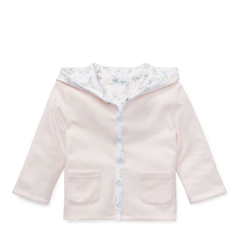 リバーシブル・インターロック・ジャケット[ピンク](女の子12〜24か月用)