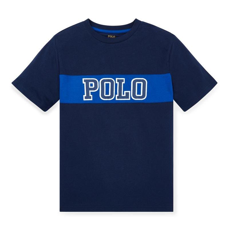 コットンジャージー・グラフィック・半袖Tシャツ[4色展開](ボーイズS〜XL)