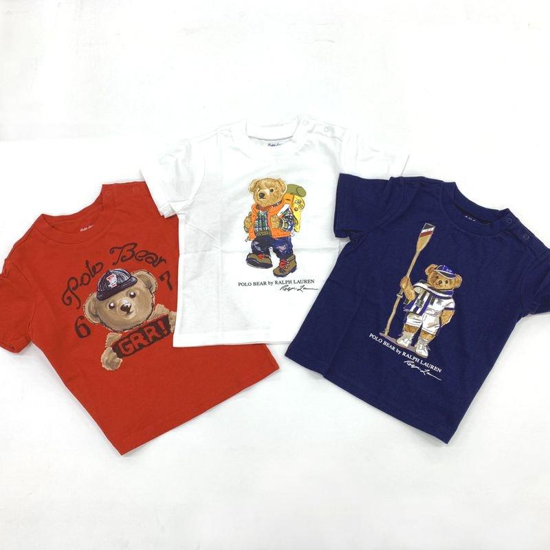 ポロベア・半袖Tシャツ・3ピースセット[マルチカラー](男の子12〜24か月用)