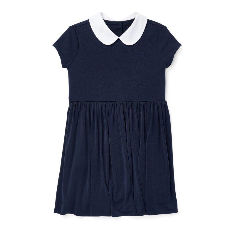 クレープフィット・フレアドレス[ネイビー](女の子2〜7歳用)