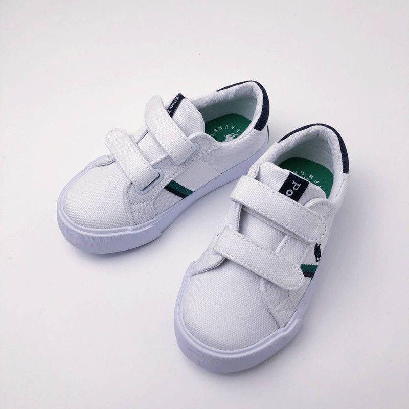 ガフニー・EZ・ベルクロスニーカー[ホワイト](13〜16cm)(男の子2〜5歳用)