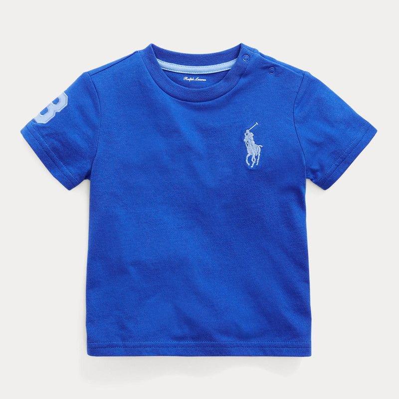 ビッグポニー・コットン・半袖Tシャツ[5色展開](男の子12〜24か月用)