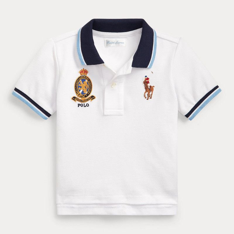 ビッグポニー・エンブレム・半袖ポロシャツ[3色展開] (男の子12〜24か月用)