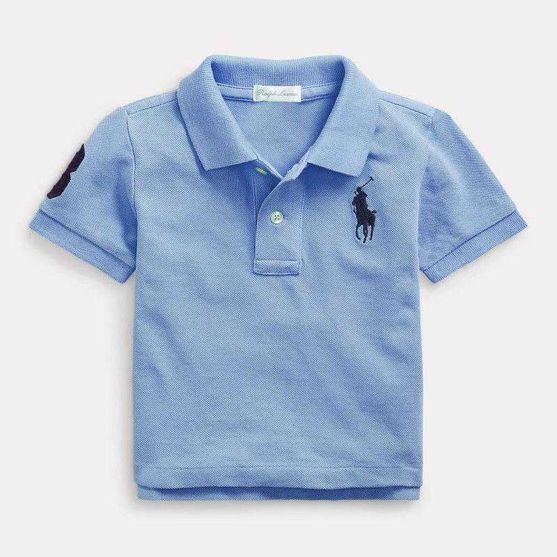 ビッグポニー・コットン・半袖ポロシャツ[3色展開] (男の子12〜24か月用)