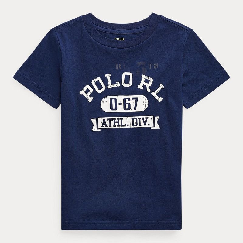コットンジャージー・グラフィック・半袖Tシャツ[3色展開](男の子2〜7歳用)
