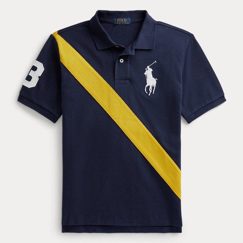 ビッグポニー・コットン・半袖ポロシャツ[ネイビー] (男の子2〜7歳用)