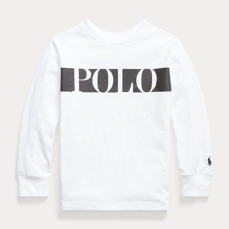 <img class='new_mark_img1' src='https://img.shop-pro.jp/img/new/icons15.gif' style='border:none;display:inline;margin:0px;padding:0px;width:auto;' />コットン・ジャージー・長袖Tシャツ[ホワイト] (男の子2〜7歳用)