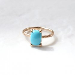 <img class='new_mark_img1' src='https://img.shop-pro.jp/img/new/icons14.gif' style='border:none;display:inline;margin:0px;padding:0px;width:auto;' />Turquoise Gold Filled Ring