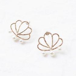 Aphrodite Pearl Earrings ( S )