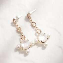 Artemis White 3 Pearls