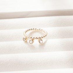 3 Gem Ring
